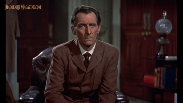 Peter Cushing in The Mummy (1959) [Click to enlarge]