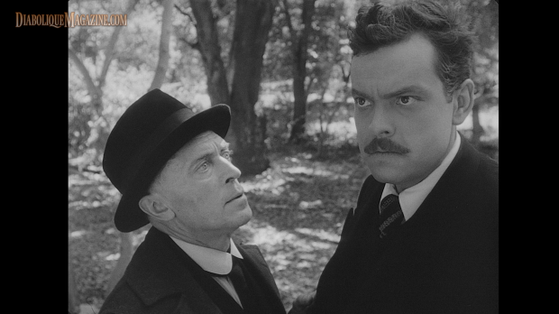 Konstantin Shayne and Orson Welles in The Stranger (1946) [Click to enlarge]