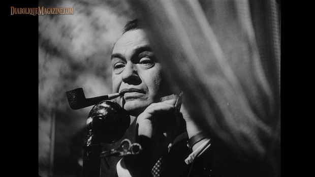 Edward G. Robinson in The Stranger (1946) [Click to enlarge]