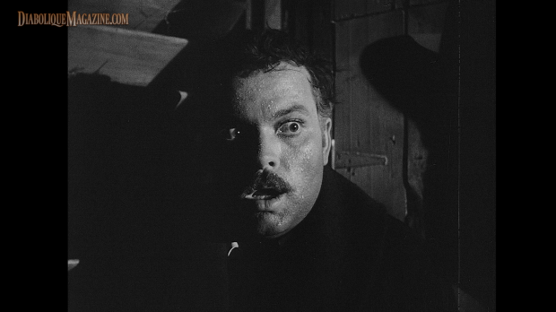 Orson Welles in The Stranger (1946) [Click to enlarge]