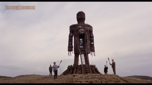 Robin Hardy's The Wicker Man (1973) [Click to enlarge]