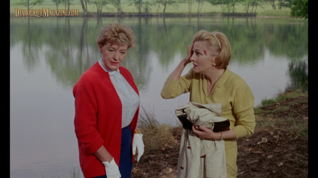 Kay Walsh and Joan Fontaine in The Witches (1966) [Click to enlarge]