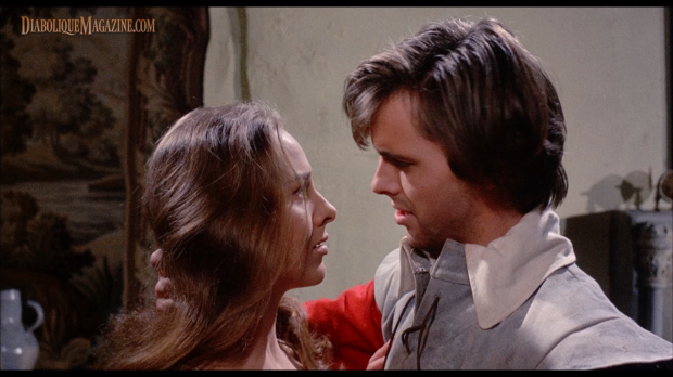 Ian Ogilvy and Hilary Dwyer in Witchfinder General (1968) [Click to enlarge]