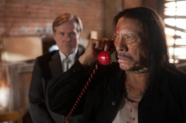 "William Sadler and Danny Trejo in ""Machete Kills"""