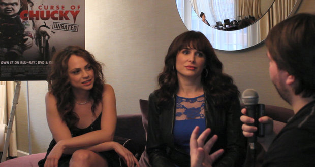 """NYCC 2013: Fiona Dourif and Danielle Bisutti on """"Curse of Chucky"""""""