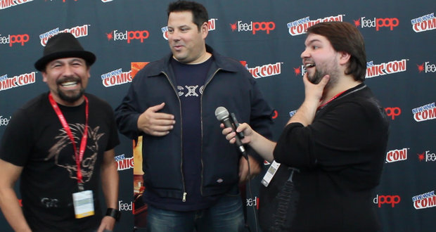 "NYCC 2013: Greg Grunberg and Lombardo Boyar on ""Big Ass Spider"""