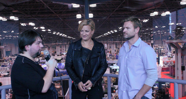 "NYCC 2013: Josh Waller and Zoe Bell on ""Raze"""