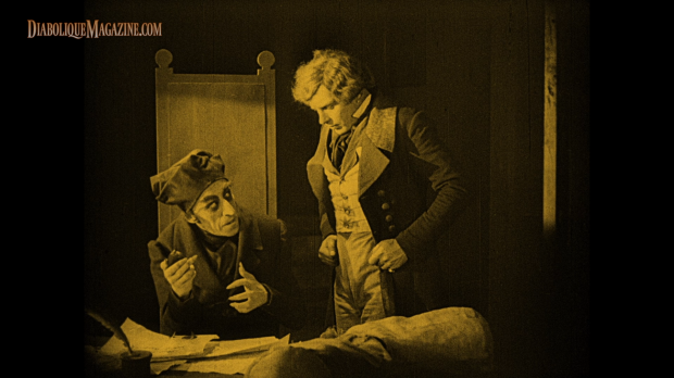 Max Schreck and Gustav von Wangenheim in Nosferatu (1922) [click to enlarge]