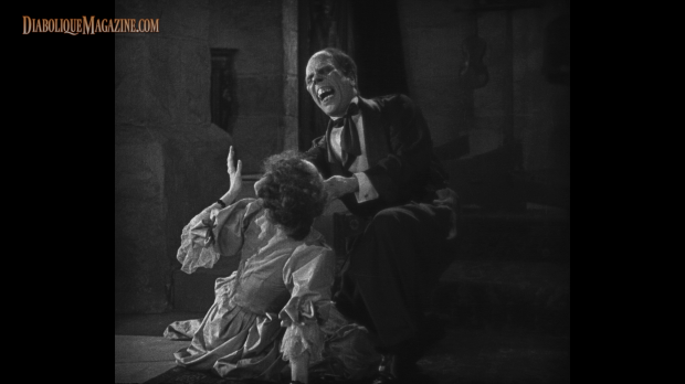 Lon Chaney and Mary Philbin in The Phantom of the Opera (1929)