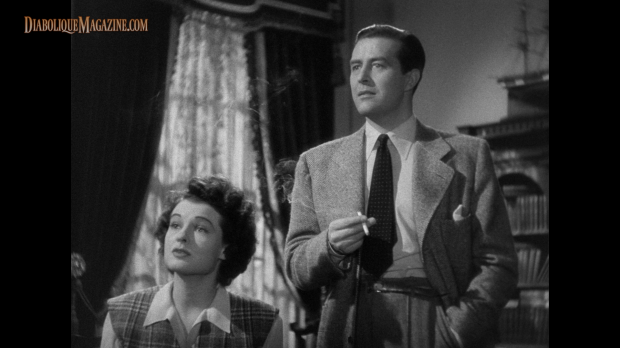 Ray Milland and Ruth Hussey in The Uninvited (1944) [Click to enlarge]