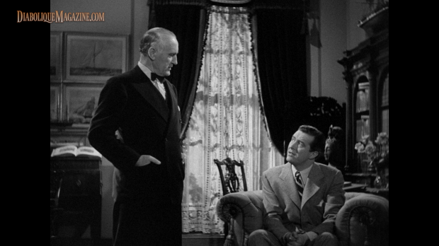 Ray Milland and Donald Crisp in The Uninvited (1944) [Click to enlarge]