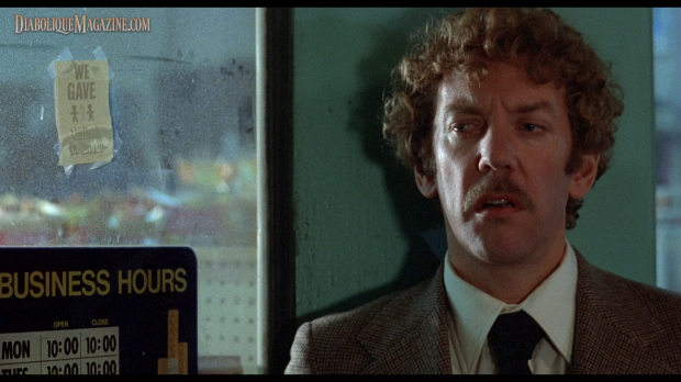 Donald Sutherland in Invasion of the Body Snatchers (1978)