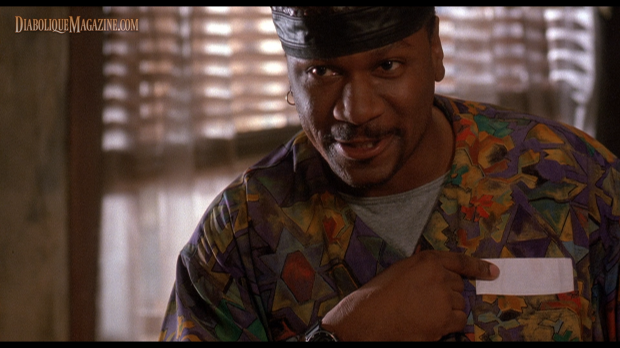 Ving Rhames in The People Under the Stairs (1991) [Click to enlarge]