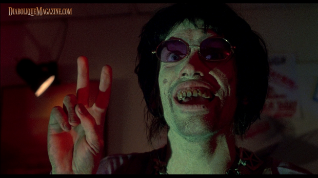 Bill Moseley in The Texas Chainsaw Massacre 2 (1986) [Click to enlarge]