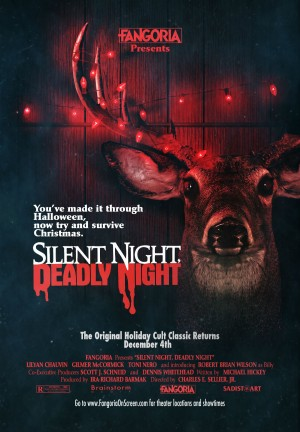 A poster for this year's re-release of Silent Night, Deadly Night