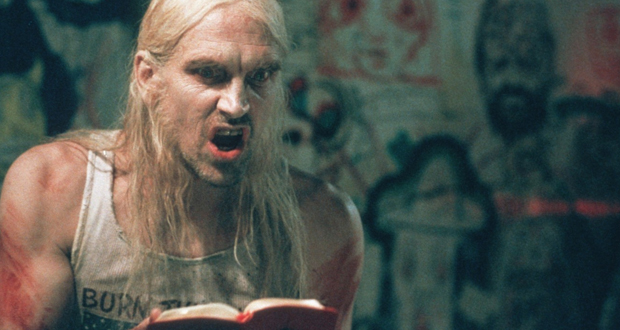 Moseley preaches as Otis in The Devil's Rejects