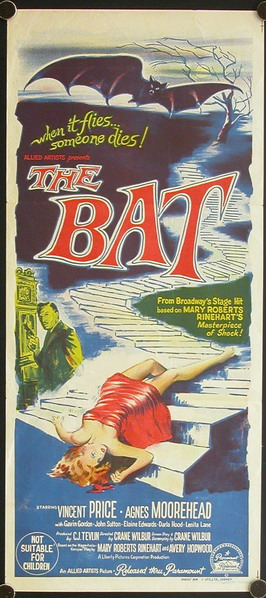Poster for The Bat