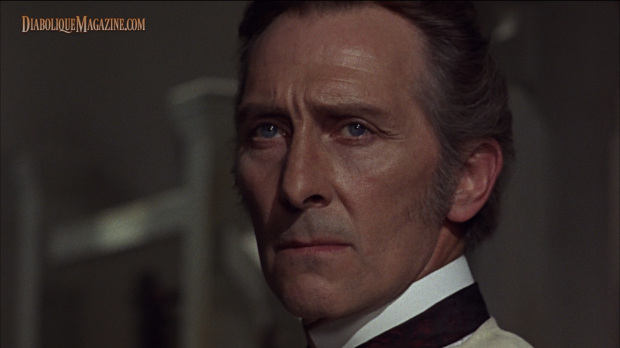 Peter Cushing in Frankenstein Created Woman (1967) [Click to enlarge]