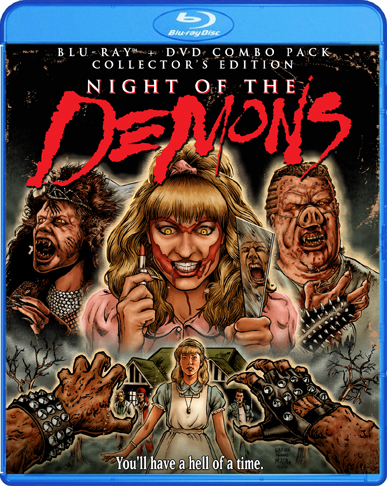 NIGHT OF THE DEMONS Blu-Ray FREE GIVEAWAY from Shout Factory and Diabolique!