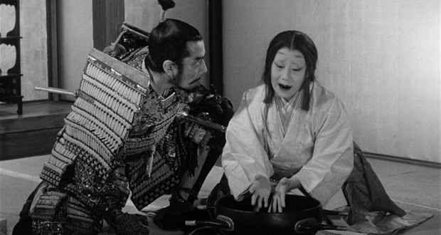 Throne of Blood (US Single-Disk Blu-Ray Review)