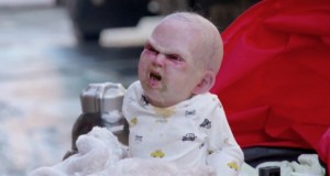 """Devil's Due"" terrifying Baby stunt"