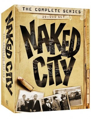 Box Art for the Naked City: The Complete Series Release