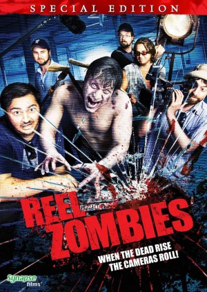 DVD Art from the Synapse Films release of Reel Zombies