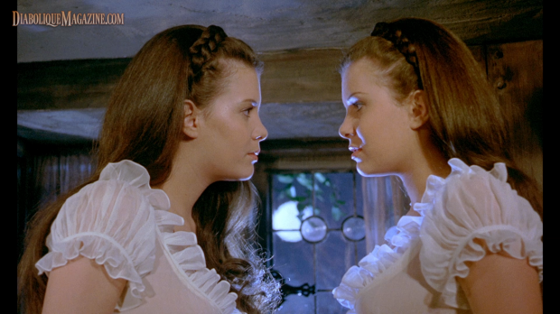 Mary and Madeleine Collinson in Twins of Evil (1971) [Click to enlarge]