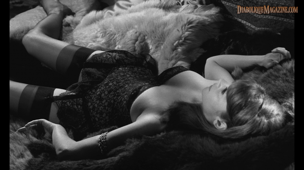 Françoise Brion in L'Immortelle (1963)