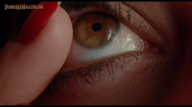 Shot from Donald Cammell's White of the Eye (1987)