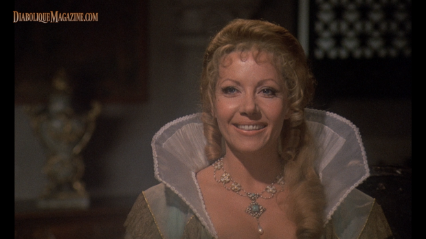 Ingrid Pitt and in Countess Dracula (1971) [Click to enlarge]