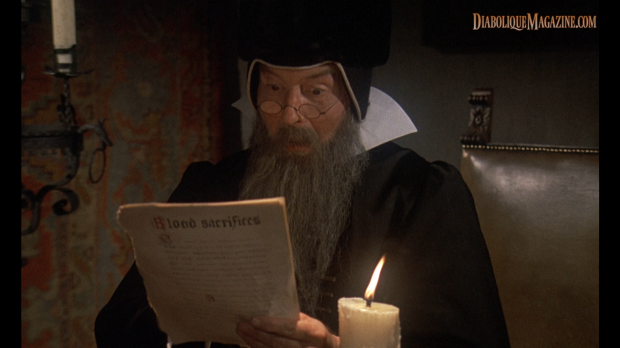 Maurice Denham in Countess Dracula (1971) [Click to enlarge]