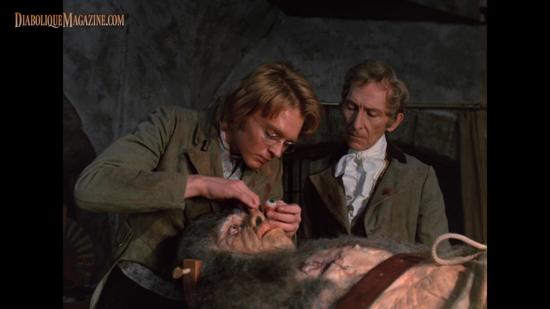 frankenstein and monster Victor frankenstein spent nearly two years digging through graves and working  in his laboratory, collecting perfect pieces of the human body.