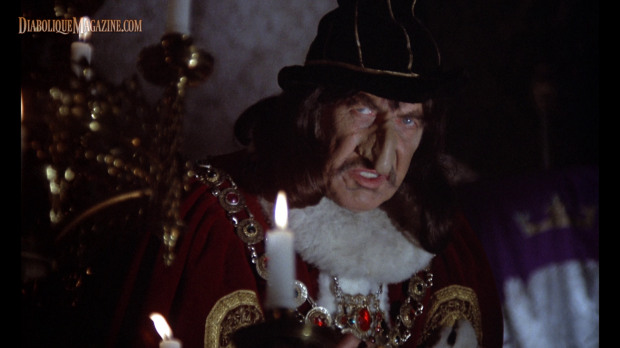 Vincent Price in Douglas Hickox's Theatre of Blood (1973) [click to enlarge]