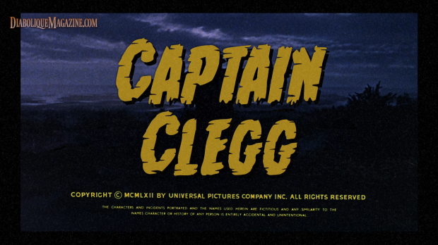 Main title on blu-ray. Captain Clegg (1962) [Click to enlarge]