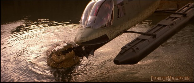 The Big Bad Croc in Steve Miner's Lake Placid (1999)