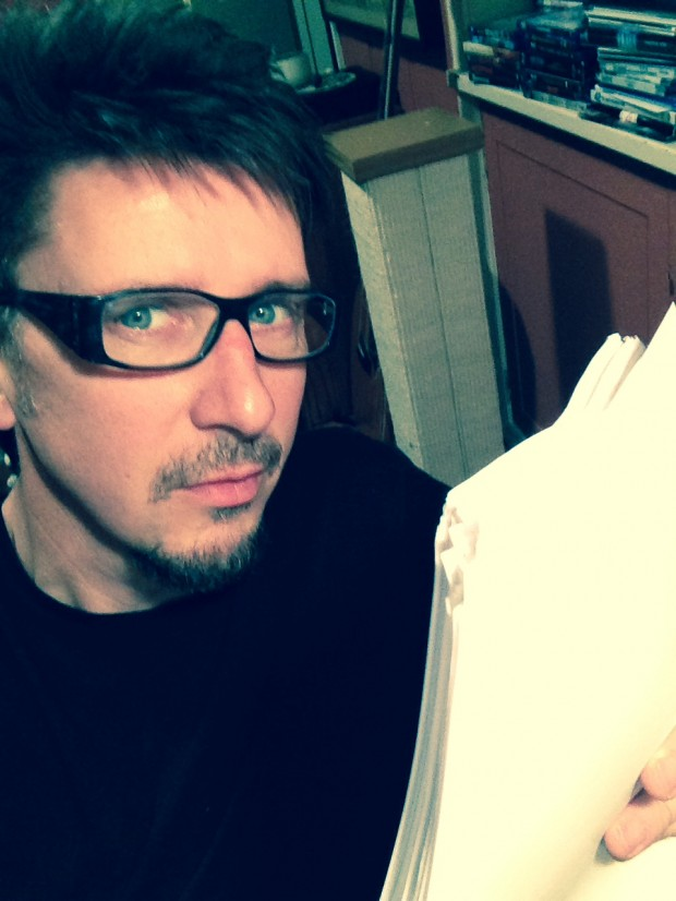 Scott Derrickson with Script 05.14