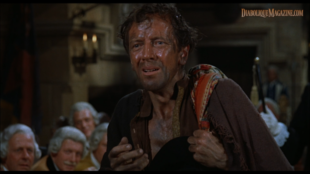 Richard Wordsworth in Hammer's The Curse of the Werewolf (1961) [Click to enlarge]