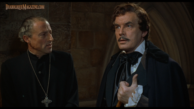 Clifford Evans and John Gabriel in Hammer's The Curse of the Werewolf (1961) [Click to enlarge]