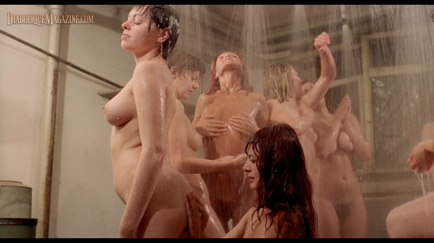 Tania Busselier and Lina Romay in Ilsa: The Mad Butcher (1977) [Click to enlarge]