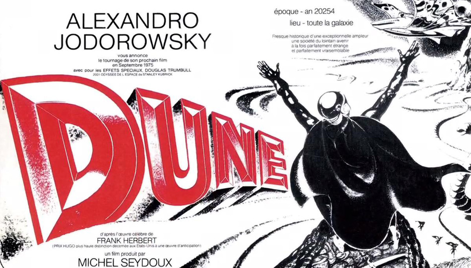 Jodorowsky's Dune: How an Obsession Turned into an Award-Winning Documentary
