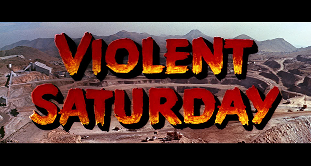 Violent Saturday (US Blu-ray review)