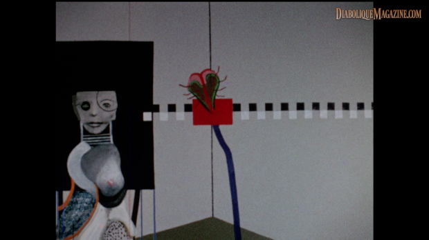 David Lynch's The Alphabet (1968) [Click to enlarge]