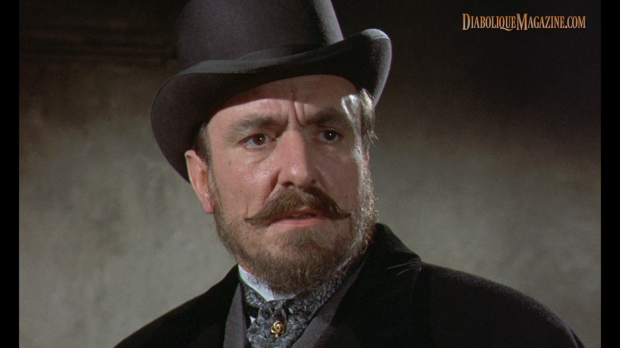 Eric Porter in Hammer's Hands of the Ripper (1971) [Click to enlarge]