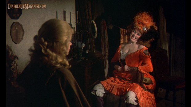 Angharad Rees in Hammer's Hands of the Ripper (1971) [Click to enlarge]