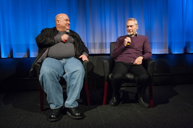 William Lustig [left] and Jack Hill [right], Photo Credit: Peter Dressel/The Academy of Motion Picture Arts and Sciences