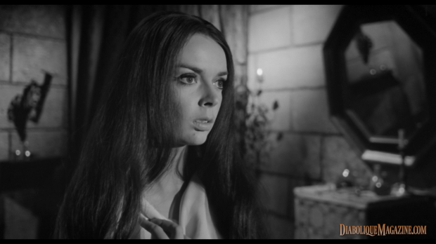 Barbara Steele in The Long Hair of Death (1964) [Click to enlarge]