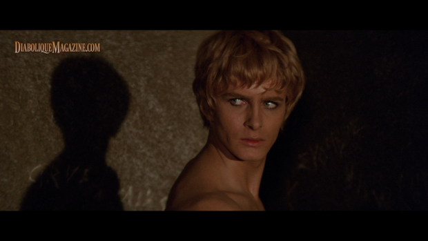 Martin Potter in Fellini Satyricon [click to enlarge]