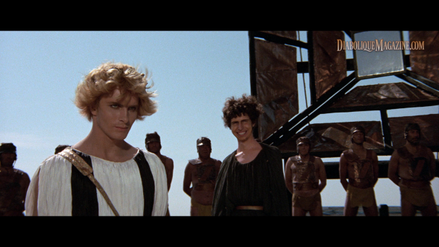 Martin Potter and Hiram Keller in Fellini Satyricon [click to enlarge]
