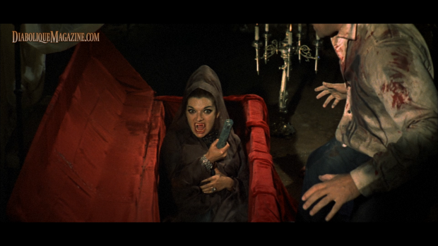 Aurora de Alba and Paul Naschy in La Marca del Hombre Lobo (1968) [Click to enlarge]